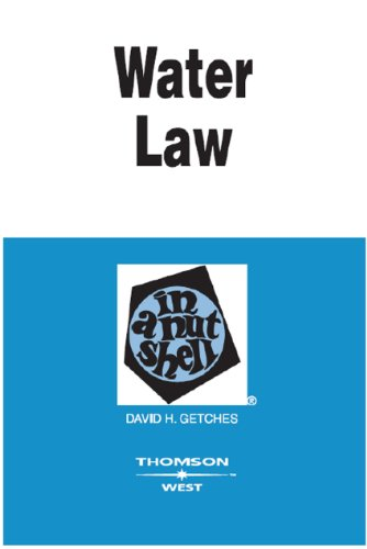 Getches' Water Law in a Nutshell, 4th (English Edition)