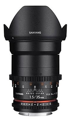 Samyang SYDS35M-NEX VDSLR II E Mount 35 mm Wide-Angle Lens by SAQ8P