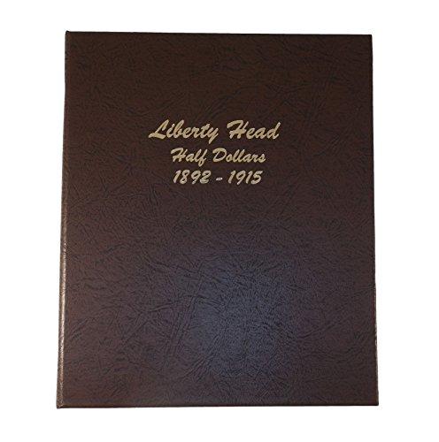 Dansco US Liberty Head Barber Half Dollar Coin Album 1892 – 1915 #7150