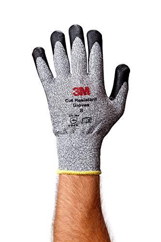 3M Comfort Grip Glove CGL-CR, Cut Resistant (ANSI 3), Size L