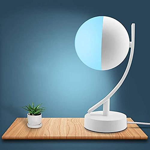 lampada da scrivania wifi google Lampada da Tavolo Intelligente - Luce Notturna RGB Intelligente Compatibile con Alexa e Google Home WiFi