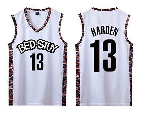 PUPPYY Nets 13# Harden - Uniforme de baloncesto unisex, chaleco de manga transpirable, camiseta de poliéster suelta, S