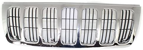 Partomotive 正規店 For 99-03 大人気 Grand Cherokee Complete Front Grill Grille