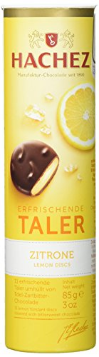 Hachez Erfrischende Taler Zitrone, 6er Pack (6 x 85 g)