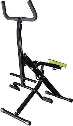BEST DIRECT Ab Booster & Computer Orginal aus dem TV-Werbung Trainingsgerät für Bauchmuskeln Arme Beine Rücken und Gesäßbereich Training Cardio Bewegung zu Hause