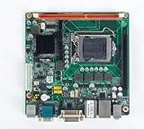 Advantech 1st Gen Intel Core i7/i5/i3/Pentium LGA1156 Mini-ITX with Q57, CRT/DVI, 2 COM, Dual GbE LAN, 8 USB 2.0, PCIe x16