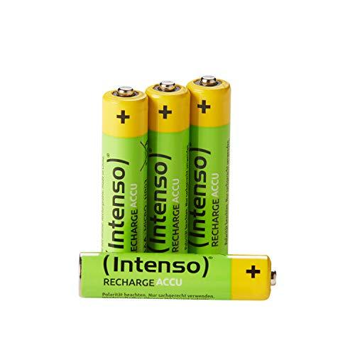 Intenso Energy Eco Wiederaufladbare NiMH-Batterie 850mAh HR03 AAA 4er Blister