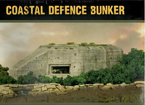 Bolt Action Juegos de señores de la guerra, miniaturas - bunker de defensa costera