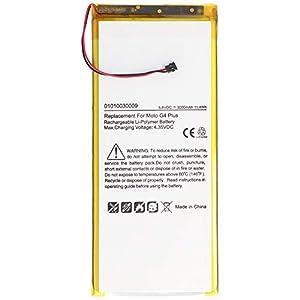 Batería para Lenovo Moto G4 Plus, XT1642, polímero de Litio, 3,8 V, 3000 mAh, 11,4Wh, sin Herramientas