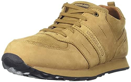 Woodland Men's Camel Leather Sneaker-5 UK (39 EU) (6 US) (GJ 2713117)