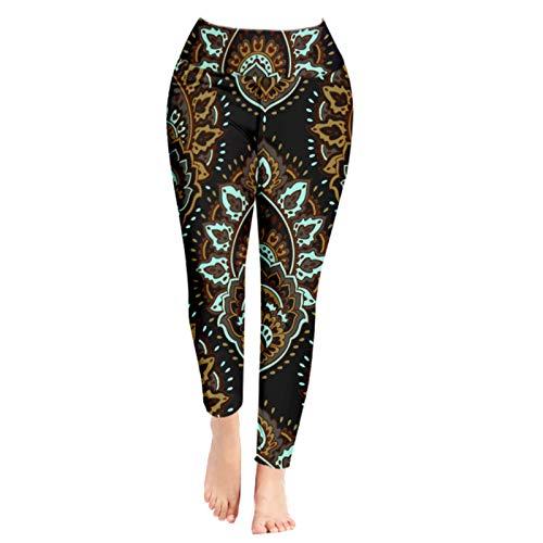 Pantalones de yoga para mujer, cintura alta, gimnasio, deportes, correr, entrenamiento, elásticos, pantalones de entrenamiento, leggings 002-S