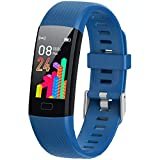 XG Glitter Fitness Tracker Activity Tracker for Kids - Waterproof Smart Watch for Girls Boys Teens Youth Digital Watch Alarm Pedometer Sleep Activity Step Counter Back to School Gift (Blue)