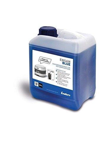Liquido sanitario per WC chimico Blue 2,5, additivo disgregante per il serbatoio delle feci