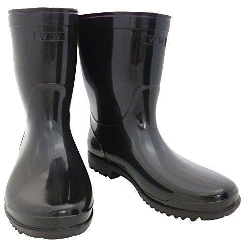 おたふく手袋 作業半長靴 27.0cm WW-724 黒