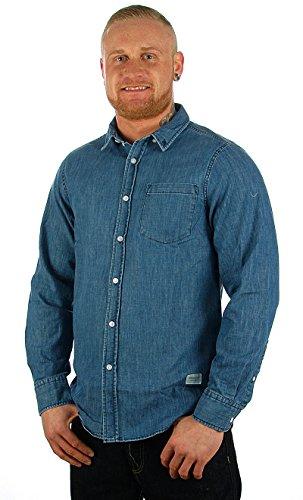 Wemoto Hemd Raylon Shirt darknavy, M