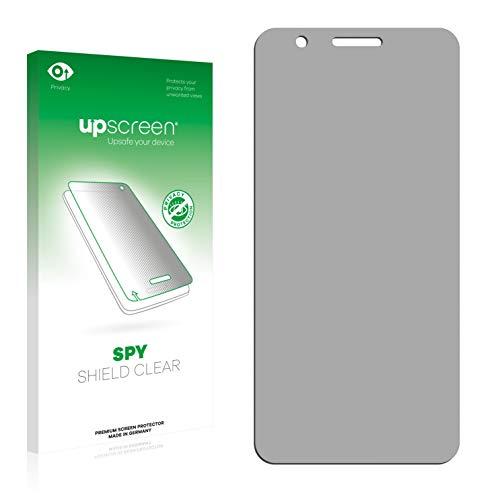 upscreen Anti-Spy Blickschutzfolie kompatibel mit HTC One X10 Privacy Screen Sichtschutz Bildschirmschutz-Folie