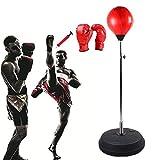 Woniu Punchingball, Stand-Boxsack Boxstand Höhenverstellbar Zum Höhenverstellbar, Indoor Fitness, Boxtraining