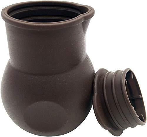 SONSMER Silicona antiadherente Chocolate Melting Pot Mantequilla Calor Leche Salsa Microondas