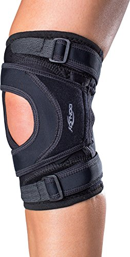 DonJoy Tru-Pull Lite Knee Support Brace: Right Leg, Large