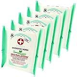 5x Prevens Paris Hand Fläche Desinfektion Desinfektionsmittel Feuchttücher