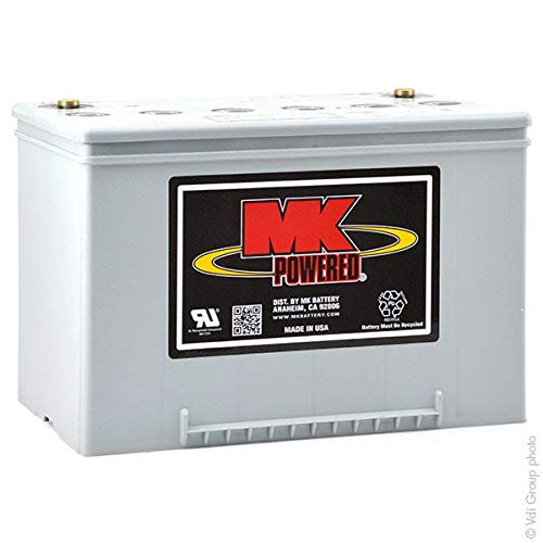 MK Powered - Batería Plomo sellada Gel M34 SLDG 12V 60Ah