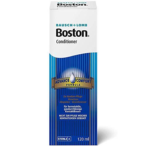 Bausch und Lomb Boston Conditioner, Kontaktlinsen Aufbewahrungslösung harte Linsen, 1er Pack 1 x 120 ml