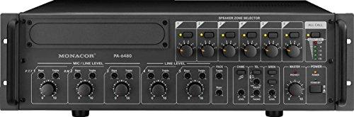 Monacor PA-6480 PA Mixing Amplifier/Verstärker