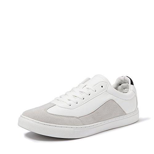 Amazon Brand - Symbol Men's White Sneakers-8 UK/India (42 EU) (AZ-YS-202 B)