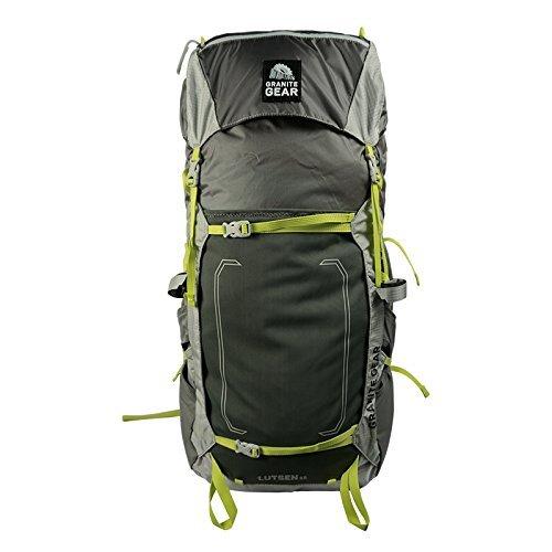 Granite Gear Lutsen 55 Backpack - Women's Flint/Chromium/Neolime Large/X-Large by Granite Gear