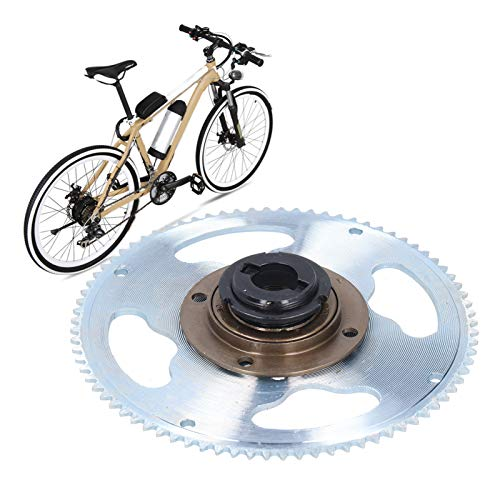 Zwinner Rueda de Cadena, Rueda Dentada, Metal para reacondicionamiento de Bicicletas eléctricas...