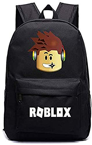 Lelestar Kids Backpack Luminous Daypack-Roblox School Bookbag Laptop Backpacks for Boys Girls Kids Teenagers Game Fans Gift (Colour 1)