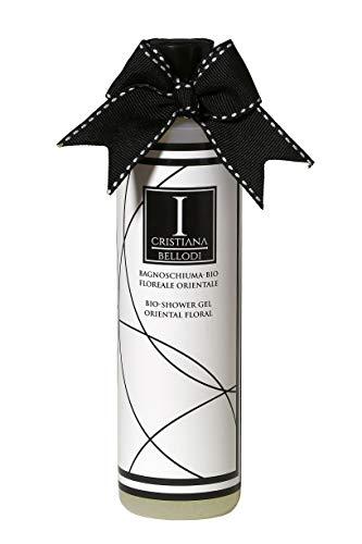 Shower Gel avec ingrédients certifiés biologiques. Parfum : fleurs orientales – orchidées.