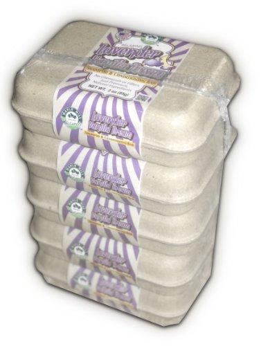 Lavender Vanilla Dream Shampoo and Conditioning 5 Bar Value Pack
