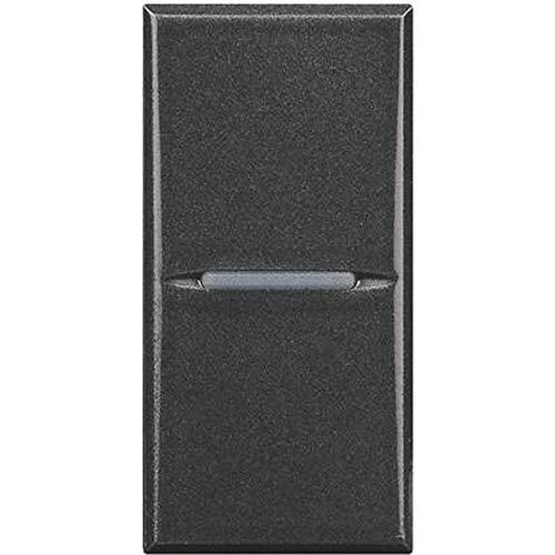 Bticino axolute Interruptor, 1P, 16A, Negro, SHS4001F