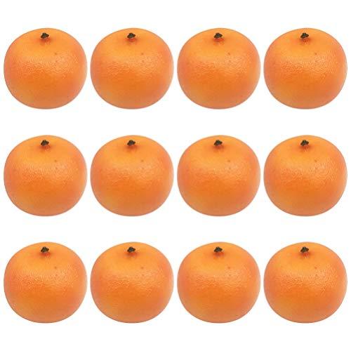 Garneck 20 Stks Kunstmatige Fruit Sinaasappelen Decoratie Mandarijn Fotografie Prop Voedsel Ornamenten Voor Keuken Party Display