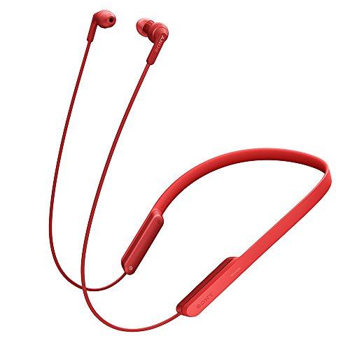 ソニー ワイヤレスイヤホン MDR-XB70BT : Bluetooth対応 リモコン・マイク付き レッド MDR-XB70BT R