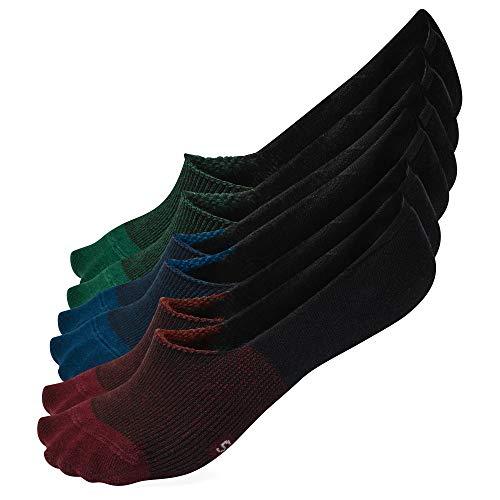 Onzichtbare sneakersokken voor dames en heren met extra dikke antislip siliconen strip