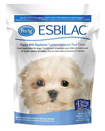 PetAg Esbilac Puppy Milk Replacer, 5-Pound, powder