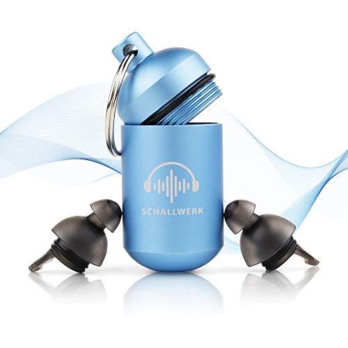 SCHALLWERK ® Sleep+ – Gehörschutz Ohrstöpsel Zum Schlafen – Dämpft Lärm & Schnarchen –Ideal Für Ruhigen Schlaf Und Gegen Schnarchen