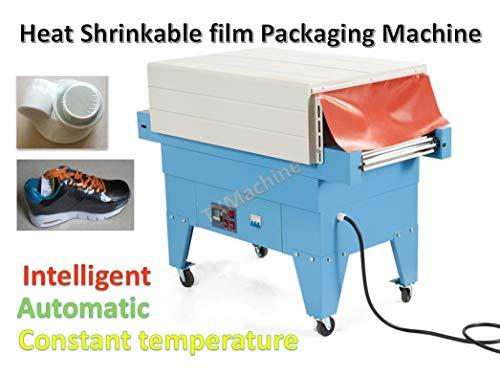 TX® 35.4 * 17.7 * 9.8inch Schrumpfmaschine erhitzen Wärmeschrumpfende Folie Verpackungsmaschine Dichtungsmaschine Automatische Verpackungsmaschine (220V/50HZ)