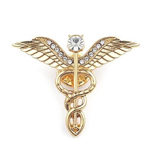 GBINUJI Broche Broche Mujer Ginecología para Médicos Mujeres (Metal Color : 4)