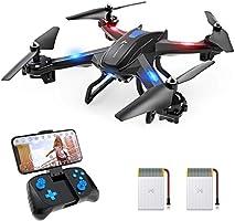 SNAPTAIN S5C Drone con Cámara 1080P HD, Dron WiFi FPV por Control Remoto, Control de Voz, Control de Gestos, Quadcopter...