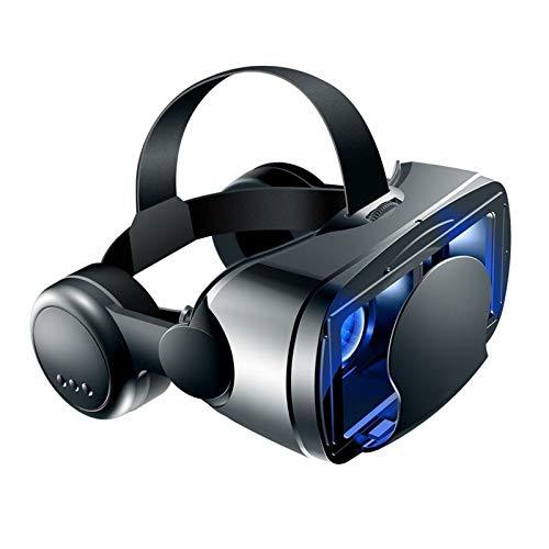 YGQNH Casco VR, Occhiali 3D Supporto per Realtà Virtuale 0-800 Occhiali per Miopia Cuffie Binocolo per iPhone 12 12Pro Huawei...
