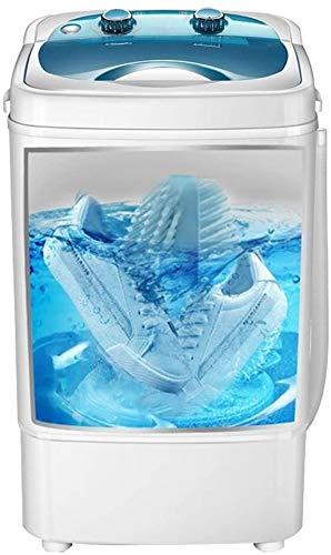 Suge Mini-Waschmaschine Smart-Compact Waschmaschine Schuhe Deodorization, 300W Waschkraft (Color : Blue, Size : 41 * 41 * 65CM)