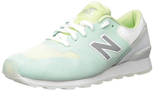 New Balance Zapatillas 696 V1 para mujer, verde (Verde/Blanco), 38 EU