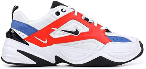 Nike M2k Tekno, Scarpe Running Uomo, Multicolore (Summit White/Black/Team Orange 100), 42 EU