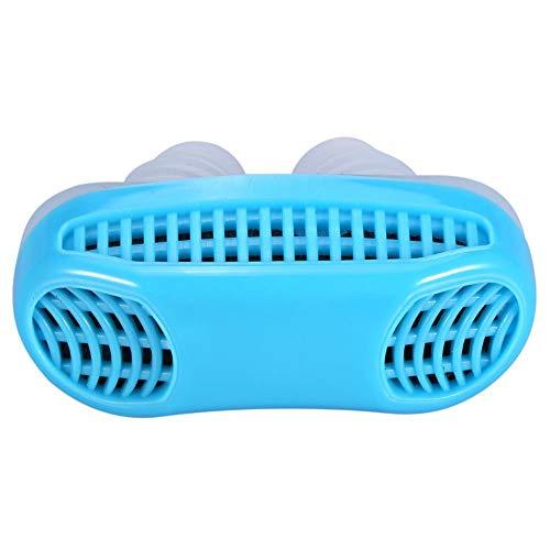 Dispositivo Para Dormir Anti-ronquidos, La Solución Más Inteligente Contra Los Ronquidos Y Las Condiciones para Dormir pe Forma Natural Y Efectiva Detenga el Ronquido Dispositivo 3colors(Azul)