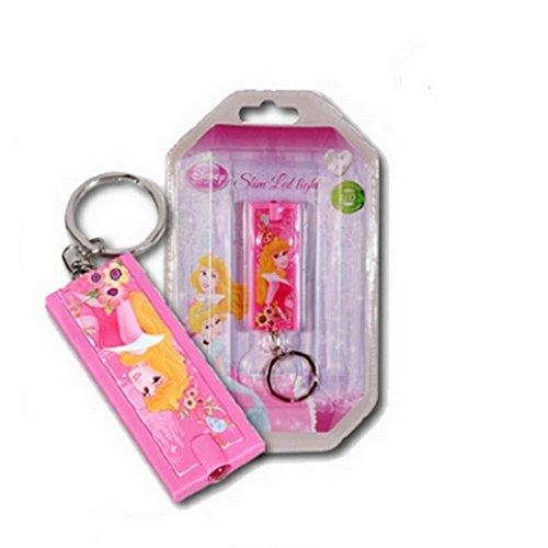 GUIZMAX Compatible avec Lampe de Poche + Porte clé Princesse Disney Enfant