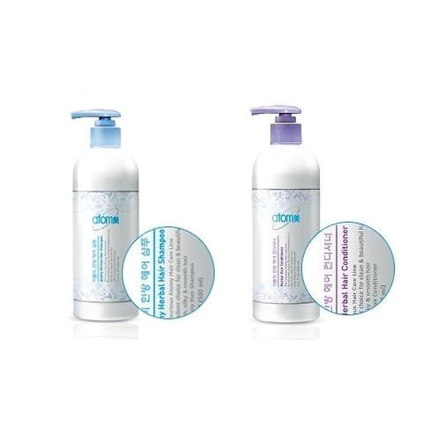 ピボット洋服シートAtomy Herbal Hair Shampoo 500ml + Conditioner 500ml