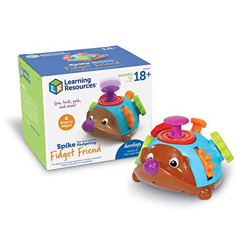 Learning Resources- Spike Il Riccio Motricità Fine, Giocattolo tattile per i Primi Anni e l'età prescolare, 6 attività Antistress, dai 18 Mesi in avanti, Colore Multi Colour, LER9106